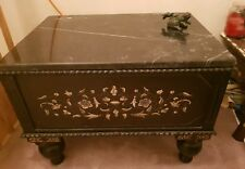 Anglo Indian inlay low chest/table