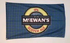 McEwans Banner 3x5 ft Flag Promotion Tiki Bar Decor Man Cave Scotch Ale Logo