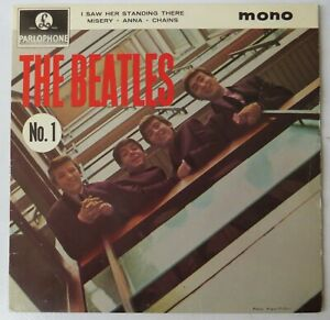 "THE BEATLES - NO.1 - 7"" VINYL 1981 RE-PRESS - SOLID CENTER - EXCELLENT"