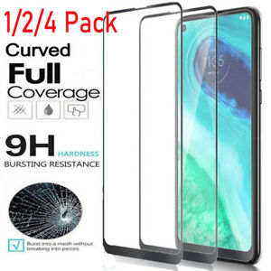 For Motorola Moto G Fast Shockproof Full Cover Slim HD Tempered Screen Protector