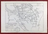 Bataille de La Trouée de Charmes 1814 Meurthe-et-Moselle Borville Saint Dié Toul