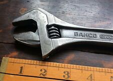 "Bacho Adjustable Spanner 8072, 10"" made in Sweeden"