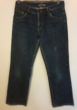 ROXY GOOD OLE' BLUE JEANS SIZE 10 USED WORN SHORT YKK