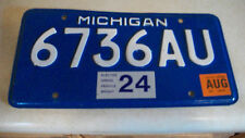 2003 Michigan license plate(elected gross vehicle weight)