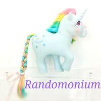 My Little Pony Vintage Rainbow Unicorn Moonstone G1 1983 MLP Hasbro Rainbow Hair