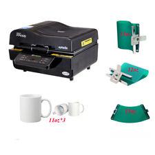 Intbuying 3d Muti Fuction Intelligent Vacuum Sublimation Heat Press Machine