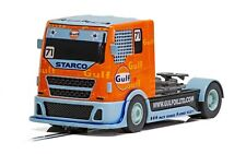 Scalextric Gulf Racing Truck 1:32 scale slot car C4089