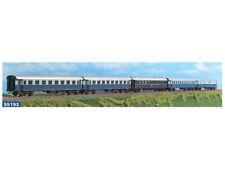 """ACME 55193 H0 Set 5 carrozze FS: DUZ, 2x Az, Bz, WR Breda """"Treno Azzurro"""",ep III"""
