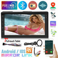 Bluetooth Wifi Stereo Radio GPS 2DIN 7inch HD MP5/MP4 Music Player Touch SUV Car