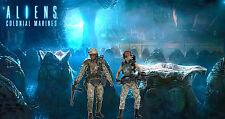 "Custom Aliens Diorama ""ALIENS EGG SCENE"" for NECA Aliens Figures 6"" Scale"