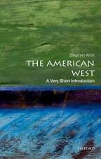 THE AMERICAN WEST - ARON, STEPHEN - NEW PAPERBACK BOOK