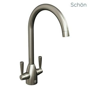 [36% OFF] Schon brushed nickel kitchen tap
