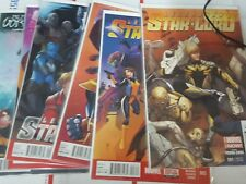 Marvel comic lot guardians of the galaxy star lord legendary 1 3 4 5 6 7 9 11 nm