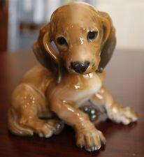 ROSENTHAL DACHSHUND PUPPY DOG FIGURINE TH KARNER #1247 GERMANY