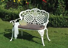 Mississippi Love Bench / Cast aluminium Love Seat
