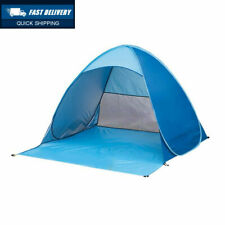 Outdoor Automatic Pop up Instant Portable Cabana Family Beach Tent