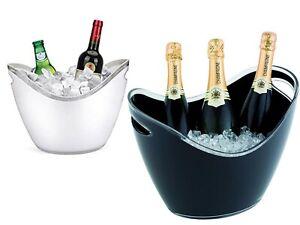 Suaglass Secchio Per Champagne vino  Secchiello Porta Ghiaccio Tavola Feste