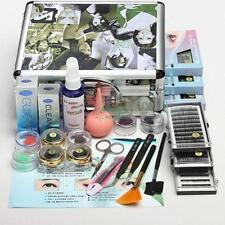 Professional False Eye Lash Eyelash Extension Full Tools Kit Set With Case
