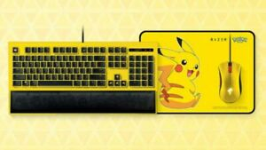 RAZER x Pokémon Pokemon Pikachu Special Edition Gaming Mouse and Keyboard Set