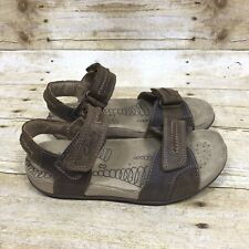 c63d4648953dd CLARKS Active Air Youth Boys Size 13.5 Brown Leather Hiking Sport Sandals