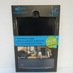 Boogie Board Jot 8.5 LCD eWriter  - BLACK - New Sealed - Free Shipping