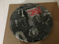 """New Kids On The Block Set Of 8 Party Plates 9"""" Large! Vintage 1989 New Old Stock"""