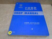 Ford Passenger Car Used Shop Manual VP 1952 VP-CM74