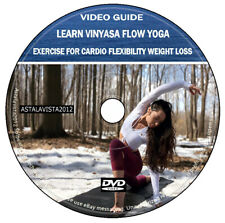 Learn Vinyasa Flow Yoga Excercise For Cardio Flexibility Weight Loss Video Guide