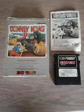 CBS Colecovision DONKEY KONG - FULL - Box/Game/Booklet   Jeu/Boîte/mode d'emploi