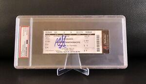 CC Sabathia Signed 3000 K Ticket Stub Yankess Dbacks 4/30/19 Auto + PSA DNA COA!