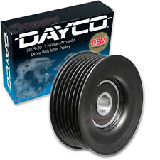 Dayco Drive Belt Idler Pulley for 2005-2015 Nissan Armada 5.6L V8 - mi