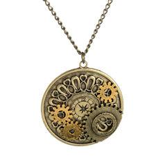 Vintage Watch Movements Gear Necklace Pendant Victorian Steampunk Necklace