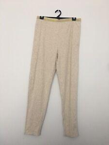 Women's Plus Size 22 Beige Loungewear Sleepwear Casual Sleep Pants Tracksuit
