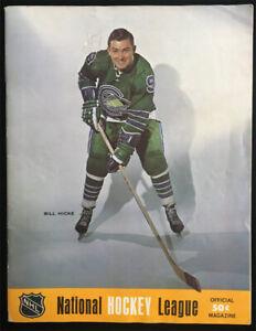 1968 Oakland Seals Minnesota North Stars Gm 1 Program vtg NHL Hockey California