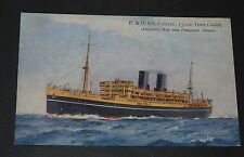 CPA POSTCARD 1930-1939 P. & O. R.M.S. CATHAY PAQUEBOT FAR EAST AND AUSTRALIA