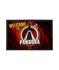 Pandora Welcome Mat Doormat Based on Borderlands - Gamer Home Decor