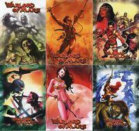 Warlord of Mars 6 PROMO CARD SET 6 cards promos Breygent 2012