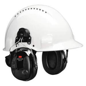 3M MT13H220P3E Headset,19dB,Hard Hat Mounted