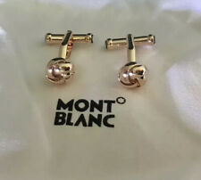 MONTBLANC CUFFLINKS KNOT STAINLESS STEEL  rose gold colouer