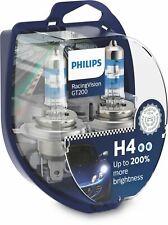 Philips RacingVision GT200 Car Headlight Bulbs H4 (Twin) *NEW 2020* 12342RGT200
