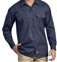 Dickies work shirts Mens LONG SLEEVE button-up Shirts 574
