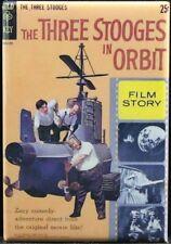 "The Three Stooges In Orbit Comic Cover 2"" X 3"" Fridge / Locker Magnet. Gold Key"