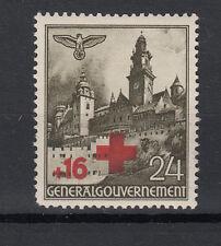 Generalgouvernement  Briefmarken 1940 Rotes Kreuz Mi.Nr.53 ** postfrisch
