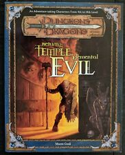 DUNGEONS & DRAGONS ~ RETURN TO THE TEMPLE OF ELEMENTAL EVIL ~ AD&D WITH ALL MAPS