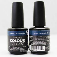 Artistic Nail Design >> PART D Colour Gloss Soak Off Gel Colour - SHIP IN 24H