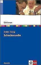 Schachnovelle von Stefan Zweig (Taschenbuch)