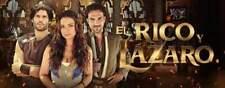 El Rico y Lazaro-novelas brasil- 19 dvds