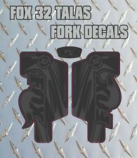 Fox 32 Talas STEALTH FORK Stickers Decals Graphics Mountain Bike Down Hill MTB
