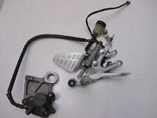 Yamaha YZF R6 Right Footrest Peg Brake Master Cylinder + brake Caliper 2006-2007