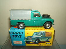 "VINTAGE CORGI TOYS MODELS  No.438 LAND ROVER  109"" WHEEL BASE     MIB"